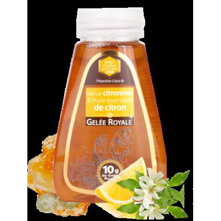 miel aromatisé aux huiles essentielles