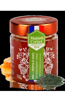 miel de France- propolis vert