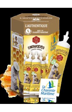 5 tubes de miel de...