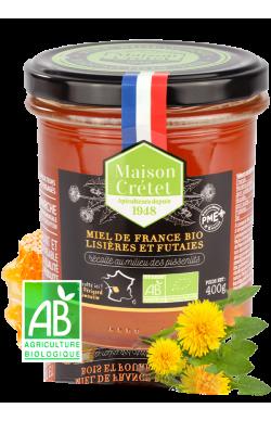 Miel de France bio récolté...