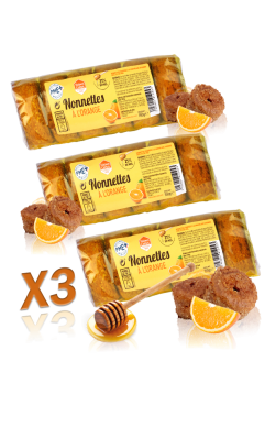 Nonnettes au miel 150g  x3