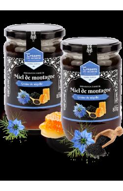 Miel Montagne/Nigelle 2x800gr