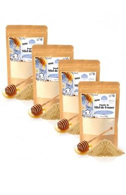 Miel en poudre 4x150 gr