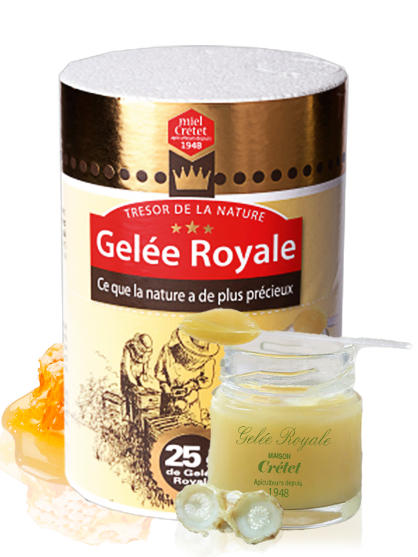 1 pot de Gelée Royale 25g