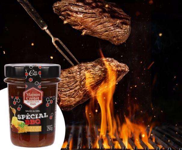 miel bbq barbecue