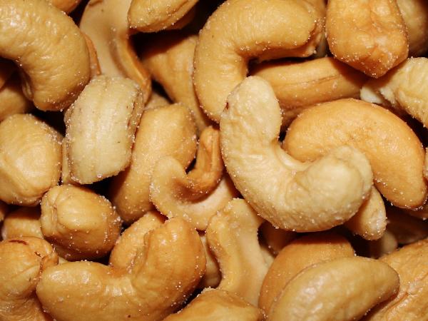 noix de cajou au miel